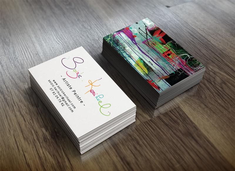 Carte De Visite Cartes Postales Marque Page